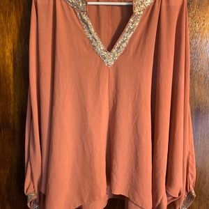 Umgee rust color top